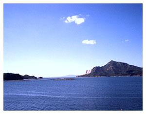 大黒神島沖合
